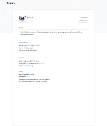 resumeclone-published(iPad)