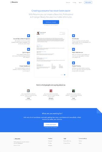 resumeclone-homepage