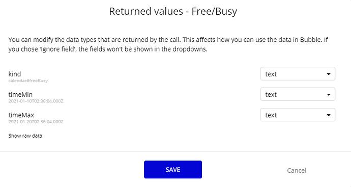 freebusy
