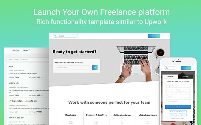 Upwork Clone New Template From Zeroqode Templates Zeroqode Forum