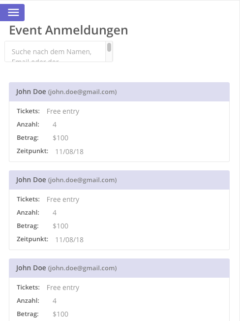 Events like Eventbrite - New Template from Zeroqode - Templates ...