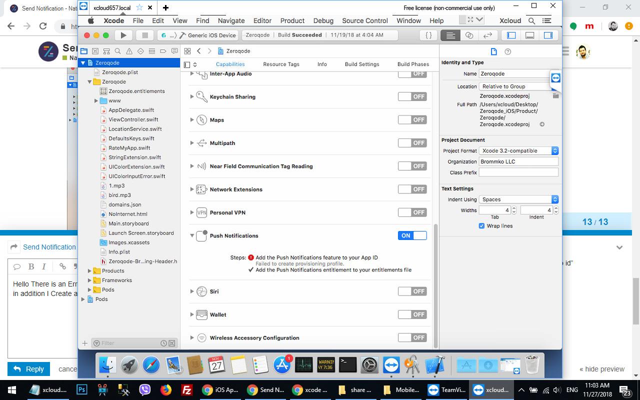 Send Notification - Native Apps - Zeroqode Forum