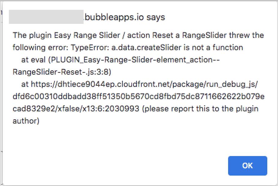 error message typical