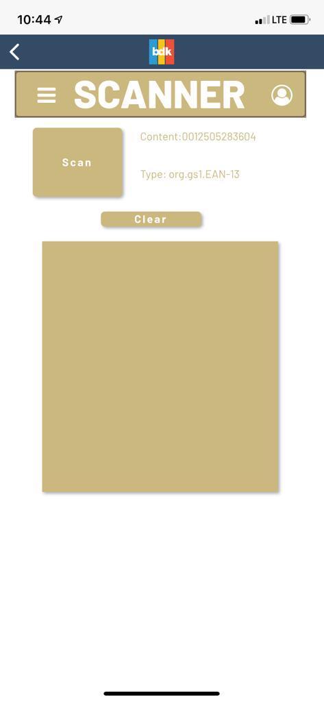 3-BarCode Scanner Result