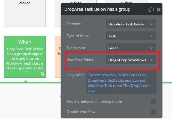 workflow folder name