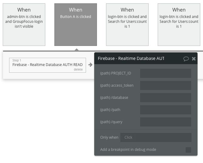 Firebase Forum Example